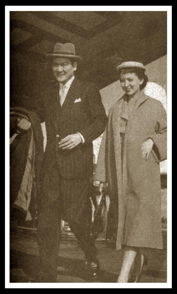 Leon Ma. Guerrero with his wife Anita Corominas Guerrero. Beside every dashing successful man is an equally beautiful and capable woman. Source: LMG: The Leon Maria Guerrero Anthology (Guerrero Publishing, 2010).